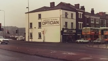 Looking back at Cloughs Opticians, Bolton.